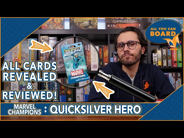 QUICKSILVER Hero Pack | Marvel Champions | All NEW Cards REVIEWED (+ Overall HERO REVIEW!)