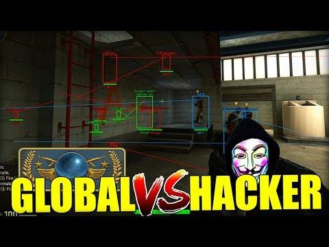 GLOBAL vs HACKER (ainda ganhamos ?) CS:GO Competitivo ‹ Ravanha ›