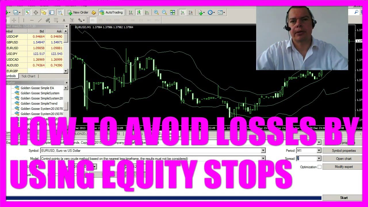MQL4 Tutorial Bootcamp2 - 10 Equity Stop Loss Module