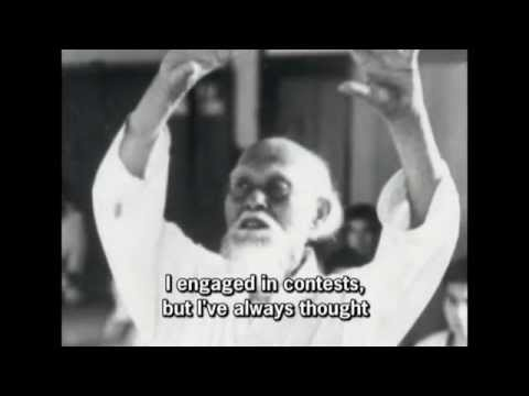 "Morihei Ueshiba's profound words on warfare: ""Killing becomes a meritorious deed!"""
