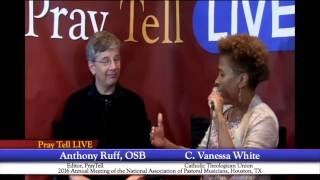 PrayTell Live @ NPM 2016: Interview with C. Vanessa White