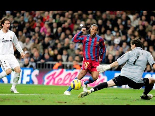 El día que el Santiago Bernabéu aplaudió a Ronaldinho