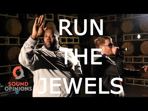 "Run The Jewels perform ""Oh My Darling Don't Cry"" (Live on Sound Opinions) [Explicit]"