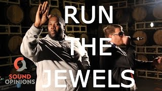 """Run The Jewels perform """"Oh My Darling Don't Cry"""" (Live on Sound Opinions) [Explicit]"""
