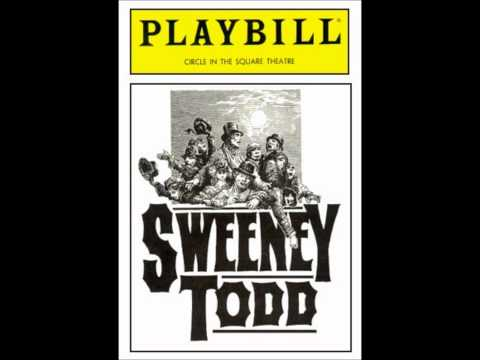 Sweeney Todd 1989 Broadway Revival  Bob Gunton & Beth Fowler  A Little Priest