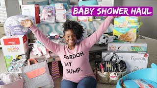 BABY SHOWER HAUL!!