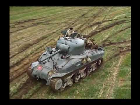 量産性と互換性を備えたシャーマン戦車