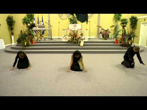 Broken But I'm Healed Praise Dance Ministry 1.29.12