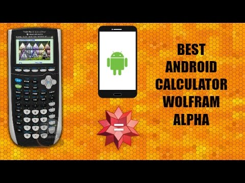 The Best Standard, Graphing, And Scientific Calculator For Android: WolframAlpha