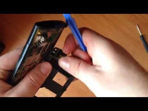 Как разобрать Nokia 500
