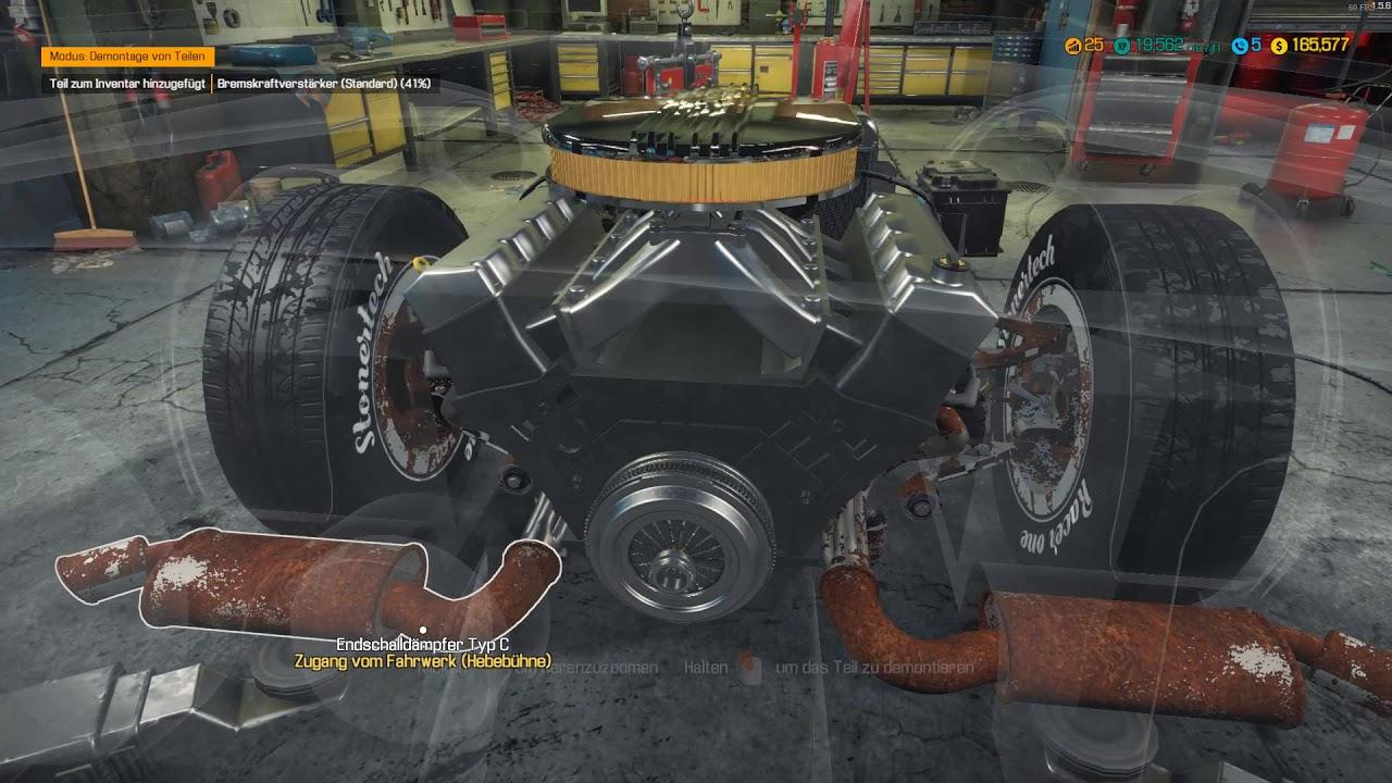 Car Mechanic Simulator 2018 #49 DC Typhoon Motor zusammen bauen und ...