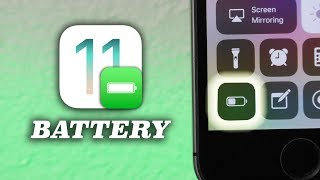 Improve iOS 11 Battery Life (Tips & Tricks)