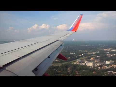 Southwest 737 landing in Baltimore