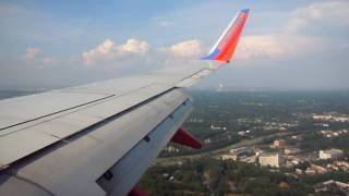 Southwest 737 landing in Baltimore