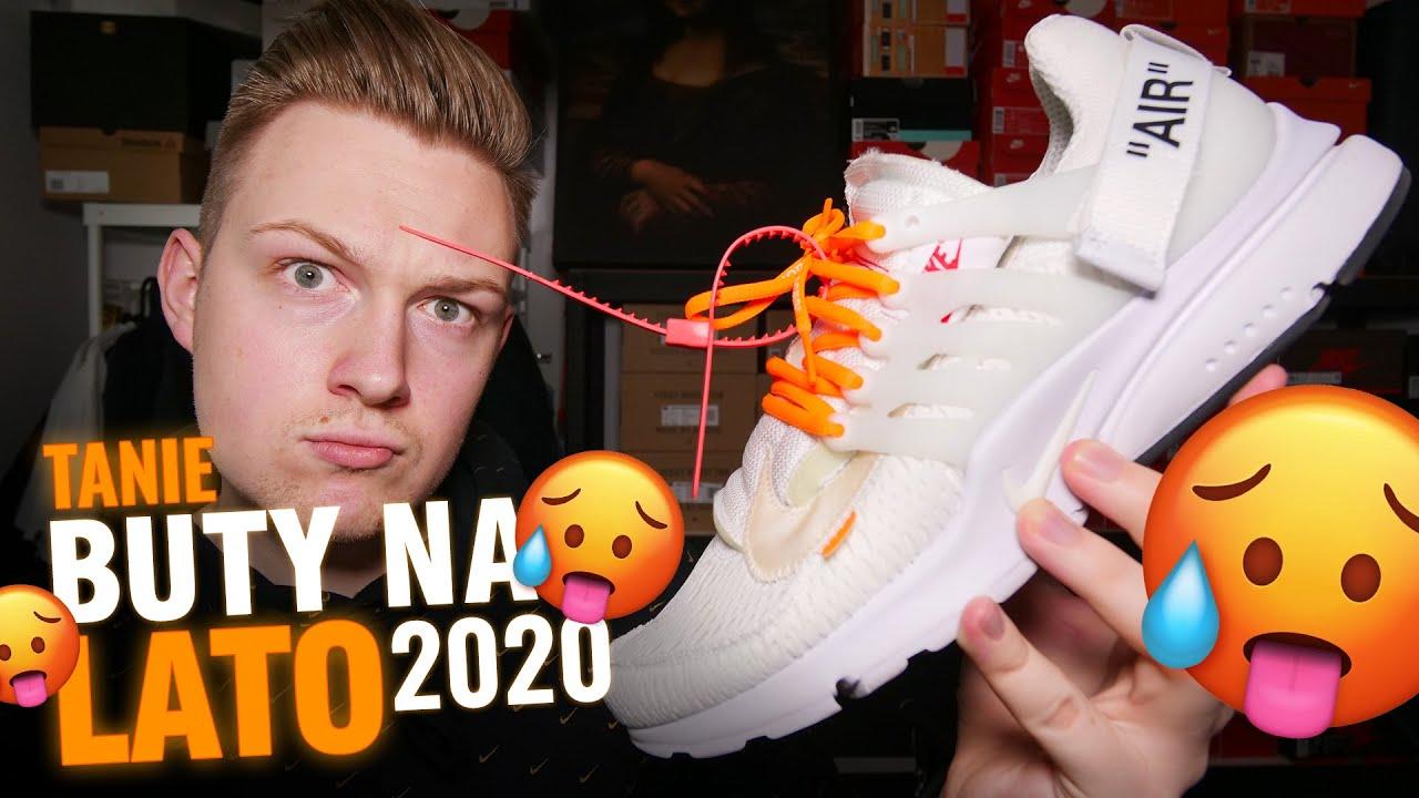 Top 10 Najlepsze Modne I Markowe Buty Na Lato 2020 Adidas Nike Reebok I Promocje 70 Youtube