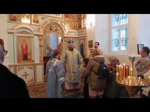 8 декабря - храм Пресвятой Троицы с. Малый Толкиш
