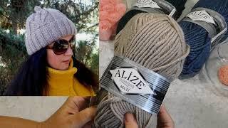 Обзор пряжи для вязания зимних шапок