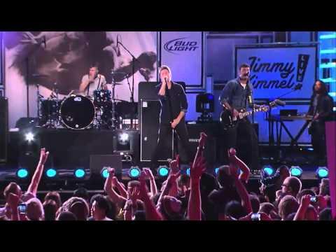 Anberlin - Impossible (Live Jimmy Kimmel) HD