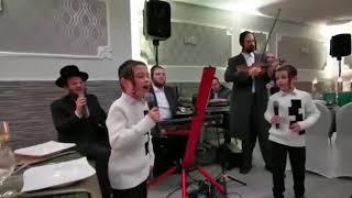 Child Solo In London, Singing Shmueli Ungar's Song Yerei Shmayim