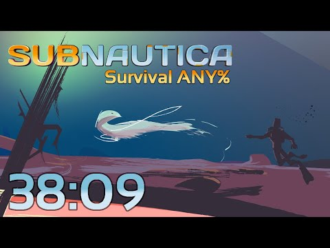 Subnautica Survival Any% 38:09 (World Record)