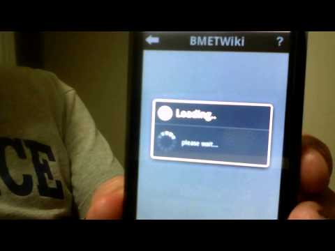 BMETWiki App