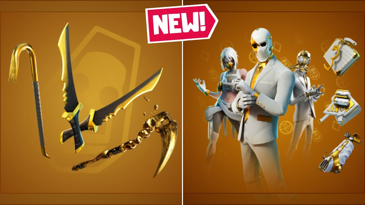 NEW Double Agent Bundle in Fortnite (Double Agent Wildcard, Hush, and Chaos)! - Shadow/Ghost Pack
