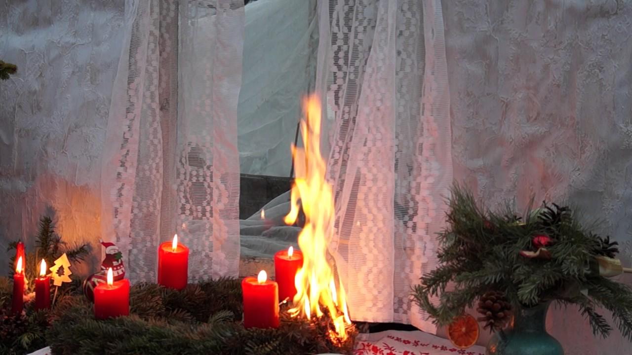 wenn der adventskranz brennt und die gardine feuer f ngt youtube. Black Bedroom Furniture Sets. Home Design Ideas