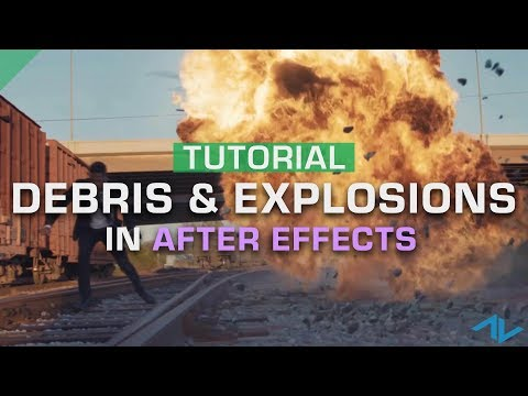 5 Steps to Composite Explosion & Debris VFX | After Effects Tutorial