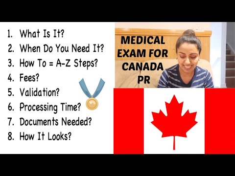 Medical Exam For Canada PR | BAANIPREET KAUR