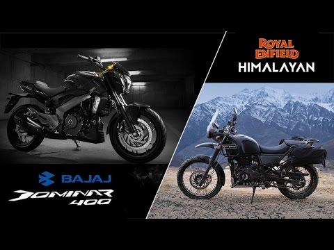 Bajaj Dominar 400 vs Royal Enfield Himalayan Comparison   QuikrCars