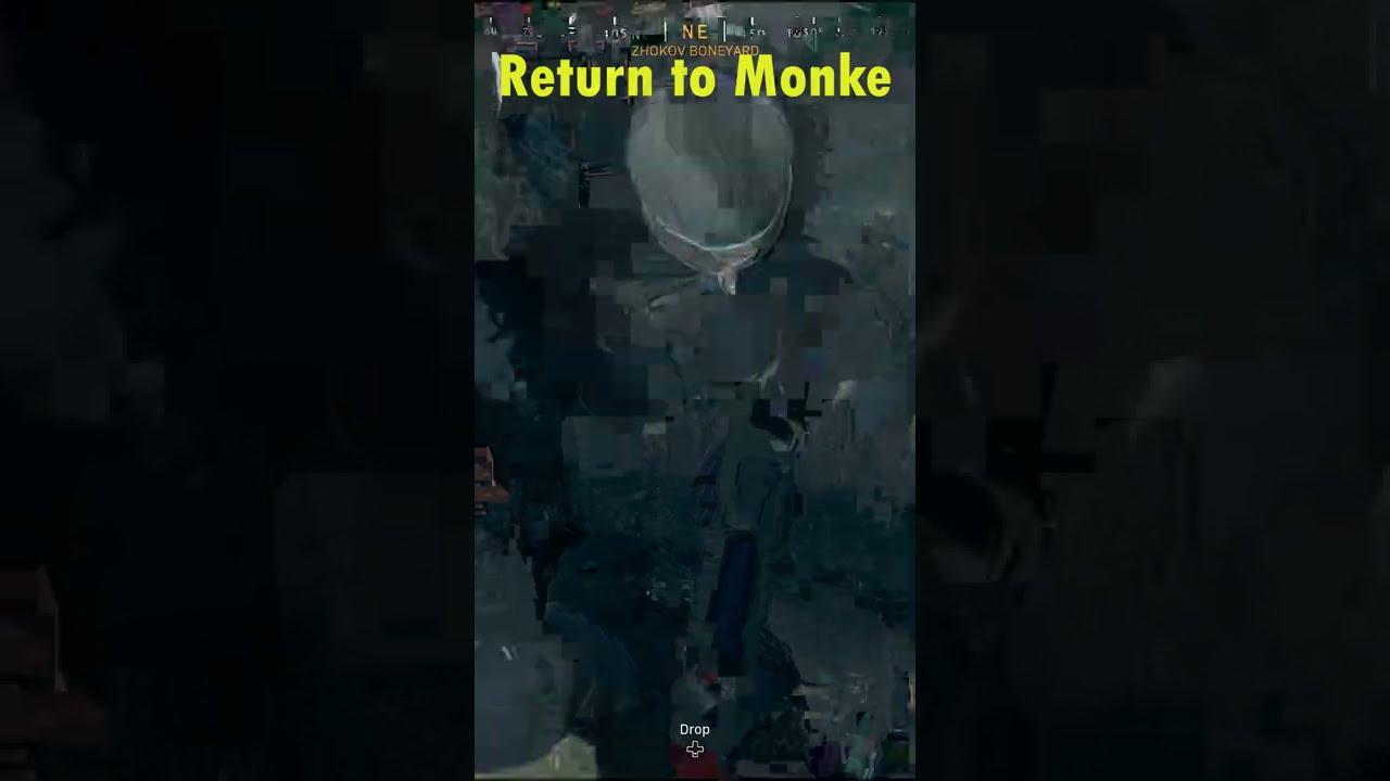 Return to Monke Call Of Duty Warzone