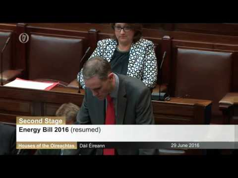 Shane Cassells TD - Dáil Debate: North South interconnector