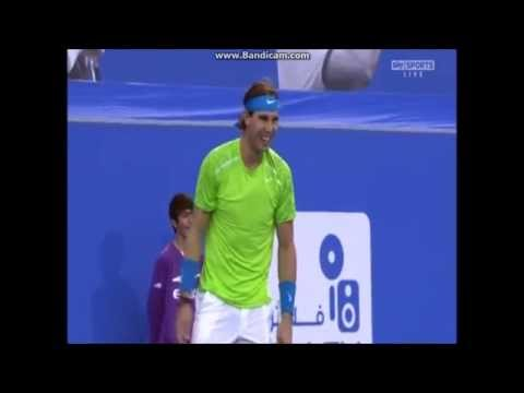 Thumbnail: Rafa Laughing After Accidentally Walloping Ferru With A Tennis Ball