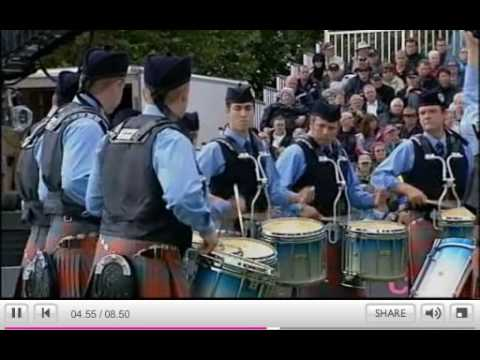 Simon Fraser University Pipe Band - Medley - World Pipe Band Championship 2009