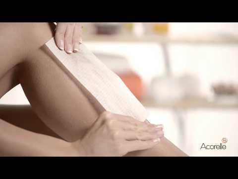 Acorelle Body Hair Ylang Ylang Oriental Sugar Wax with Strips 300g