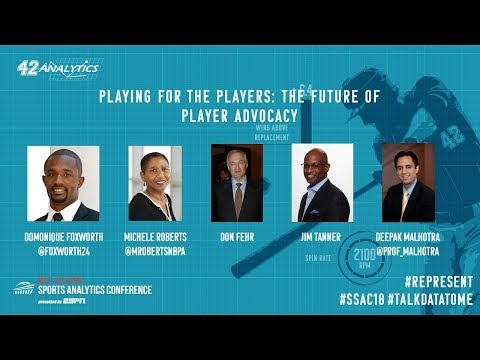 SSAC18: Playing for the Players: The Future of Player Advocacy