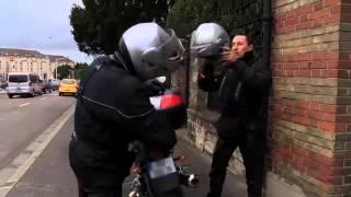 Les motards de la police nationale