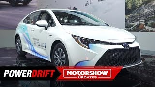 2020 Toyota Corolla Hybrid : If Prius were a sedan : 2018 LA Auto Show : PowerDrift