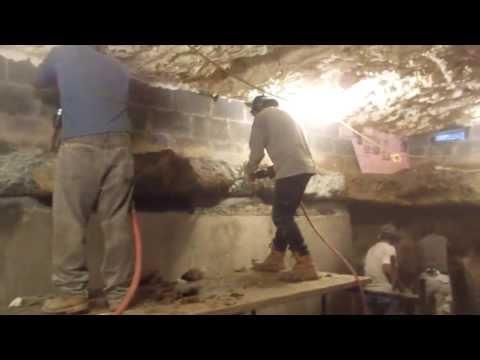 Lyle basement underpinning