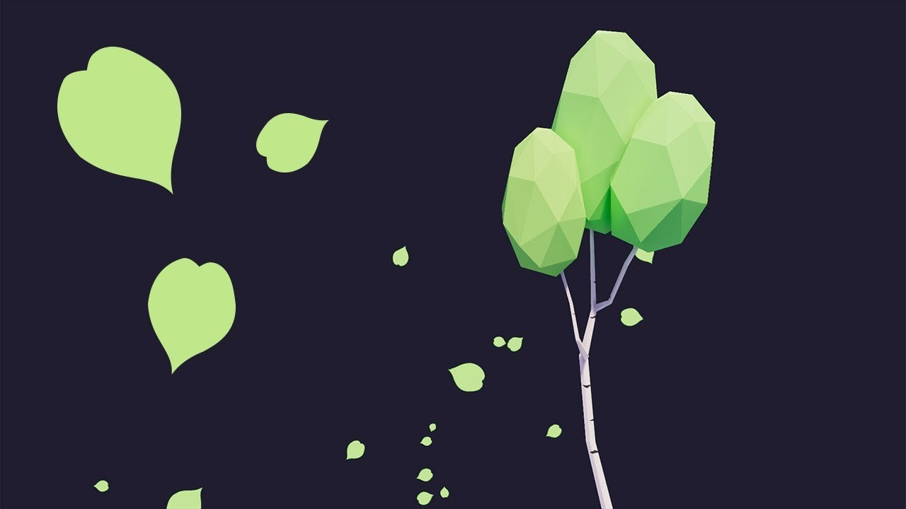 Unity Tutorial: Falling Leaves Particle System | LMHPoly