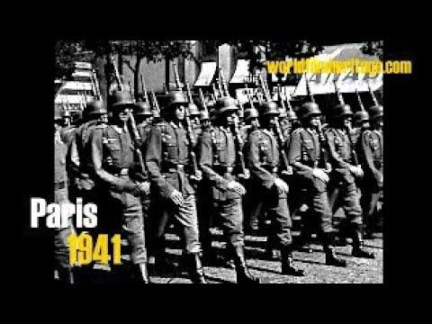 1941 Paris - Deutsche Besatzung - große Militärparade 1