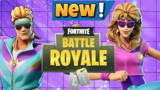 Fortnite BR: New Mullet Marauder and Aerobic Assassin Skins + Axercise Harvesting Tool +WB Glider!!