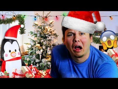 RYGUYROCKY OFFICE CHRISTMAS PRANK !?