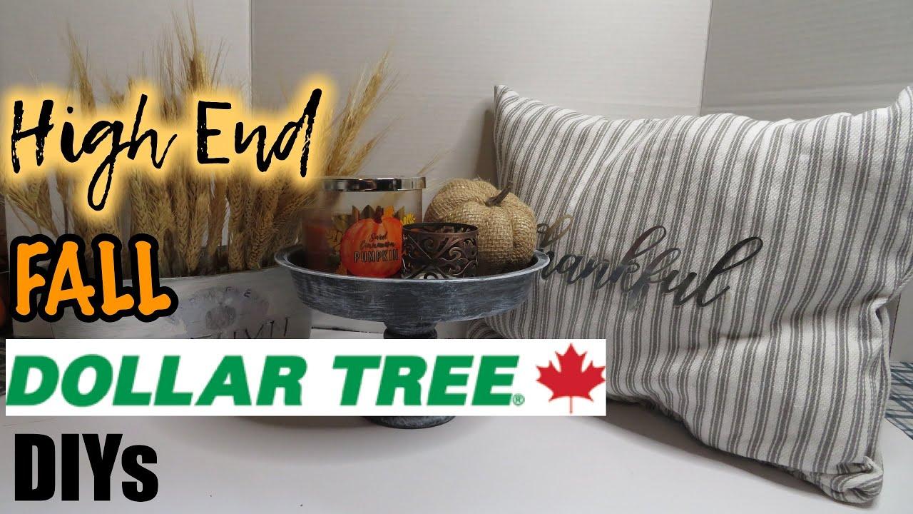 High End Fall DIYs | Dollar Tree Fall DIYs | Budget Friendly DIYs