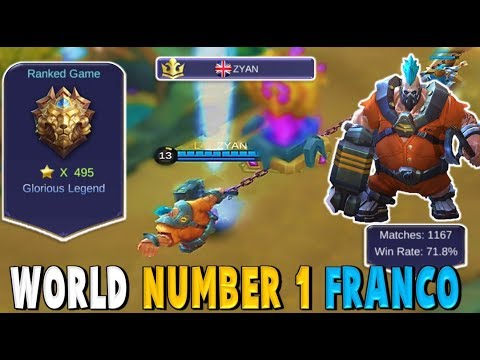 HOW THE BEST FRANCO IN THE WORLD HOOKS ! L4T ZYAN - Mobile Legends Bests