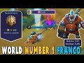 HOW THE TOP 1 FRANCO IN THE WORLD HOOKS ! L4T ZYAN - Mobile Legends Bests