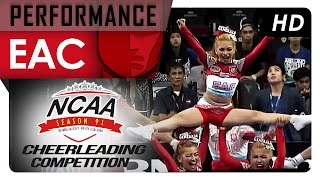 NCAA 91 Cheerleading Competition: EAC General Pep Squad