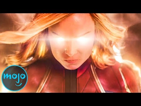 Top 10 Epic Moments In Captain Marvel