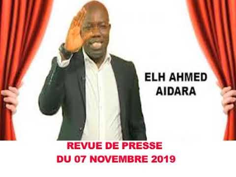 REVUE DE PRESSE AVEC AHMED AIDARA