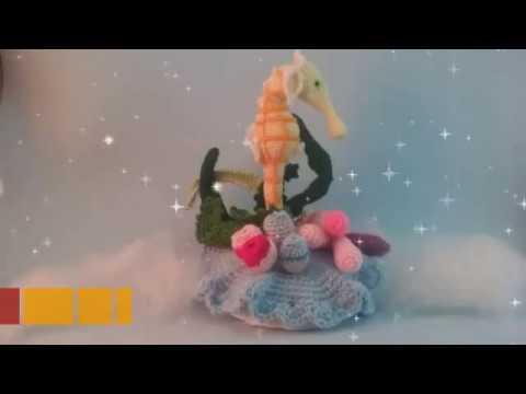 Amigurumis Caballitos A Crochet : Caballito de mar video tutorial amigurumi youtube